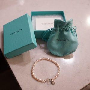 Authentic Tiffany & Co. Pearl Bracelet